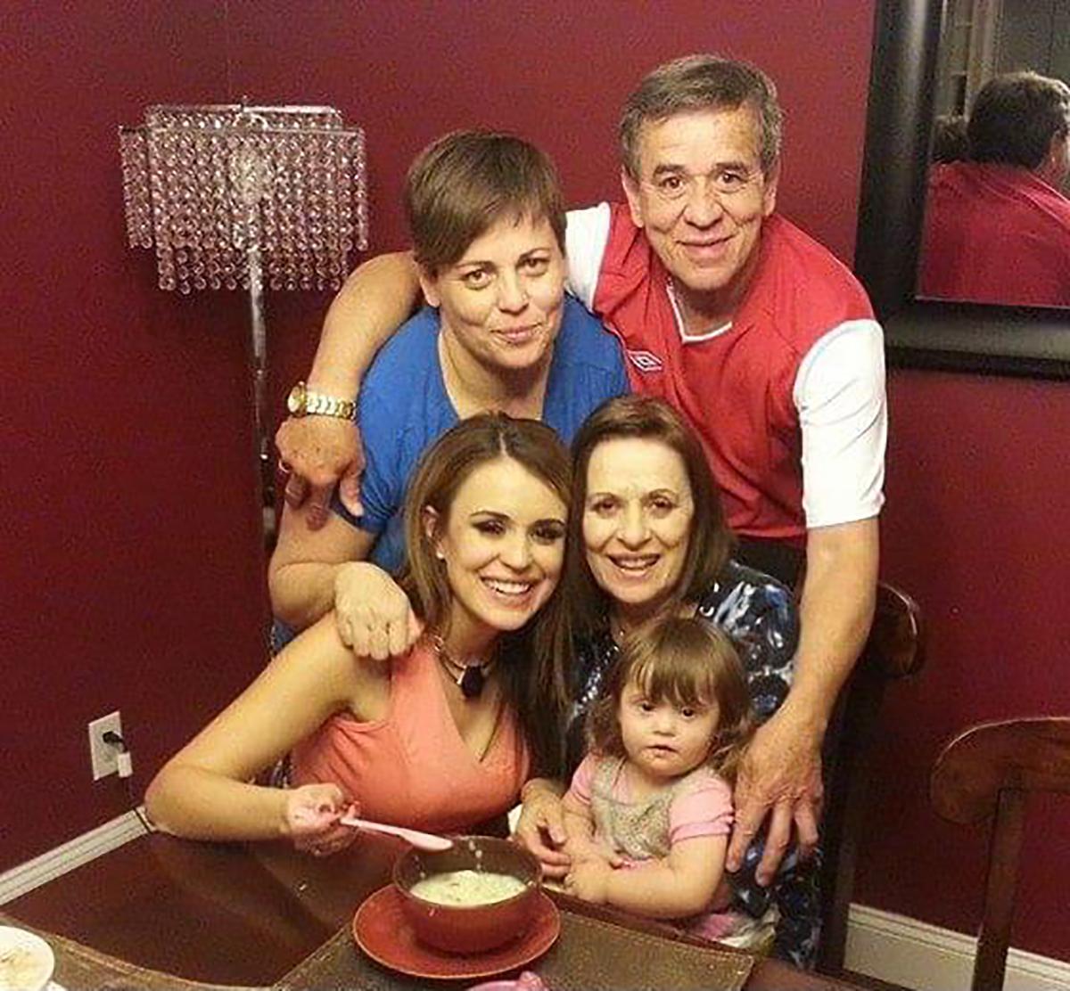 El reencuentro de toda la familia Sarassa