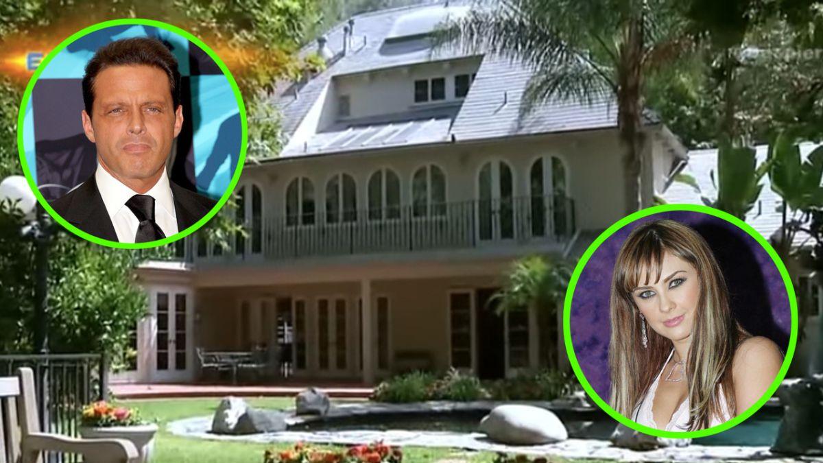 Así era la mansión donde Luis Miguel y Aracely Arámbula vivieron la última parte de su relación