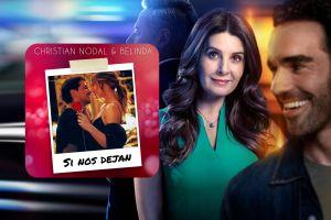 Belinda y Christian Nodal graban su amor en 'Si Nos Dejan', tema de telenovela de Univision