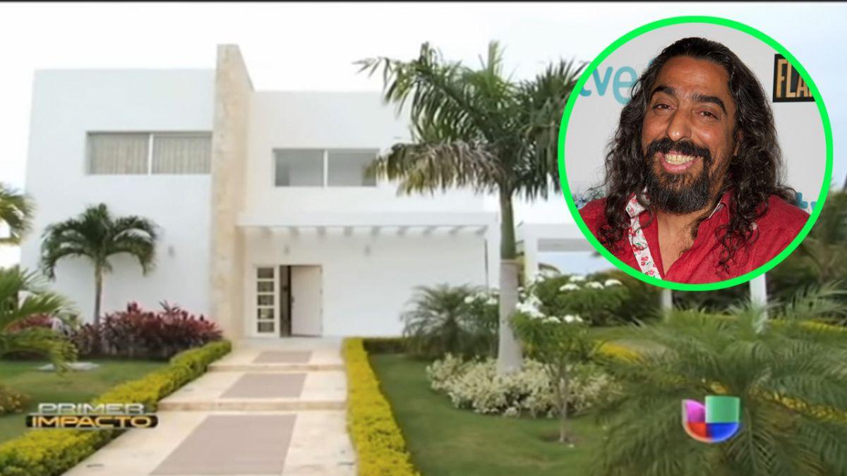 Conoce cómo era por dentro la primera casa de Diego el Cigala en República Dominicana