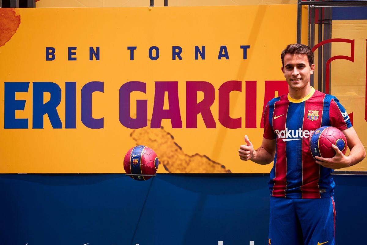 Eric García estuvo en la cantera del FC Barcelona.