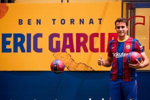El defensor Eric García es el segundo fichaje del FC Barcelona