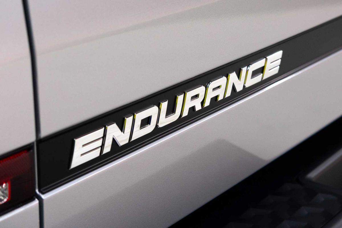 Detalle del nombre la nueva Endurance de Lordstown Motors