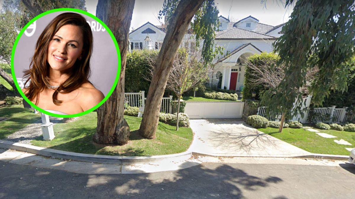 Jennifer Garner vive en un hogar temporal en lo que terminan su casa.