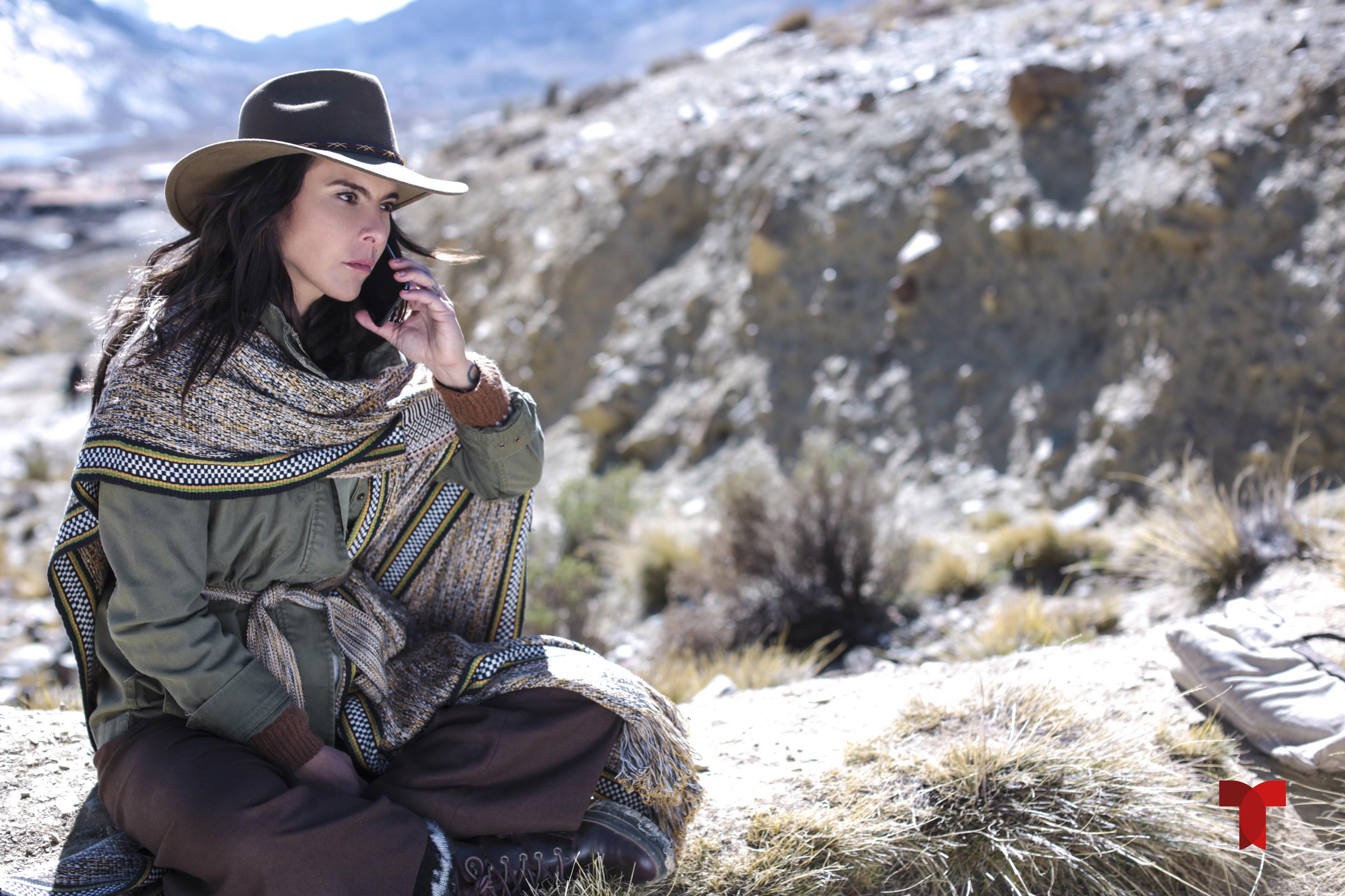 Kate del Castillo en escena de 'La Reina del Sur 3'.