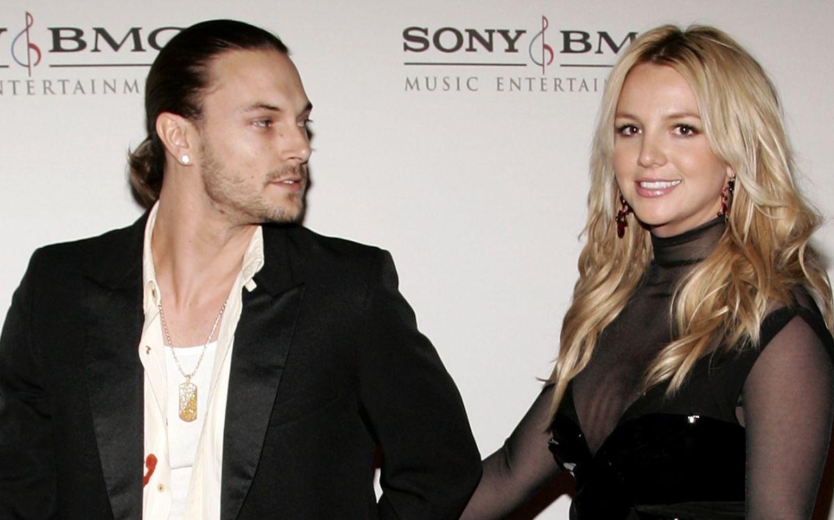 Kevin Federline y Britney Spears en 2006.