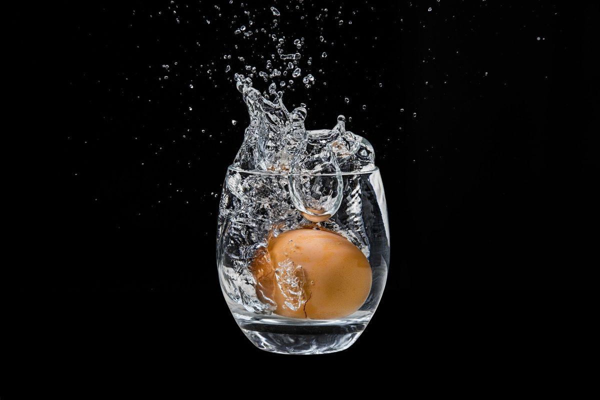 El huevo que se usará en una limpia debe ser lo más fresco posible.