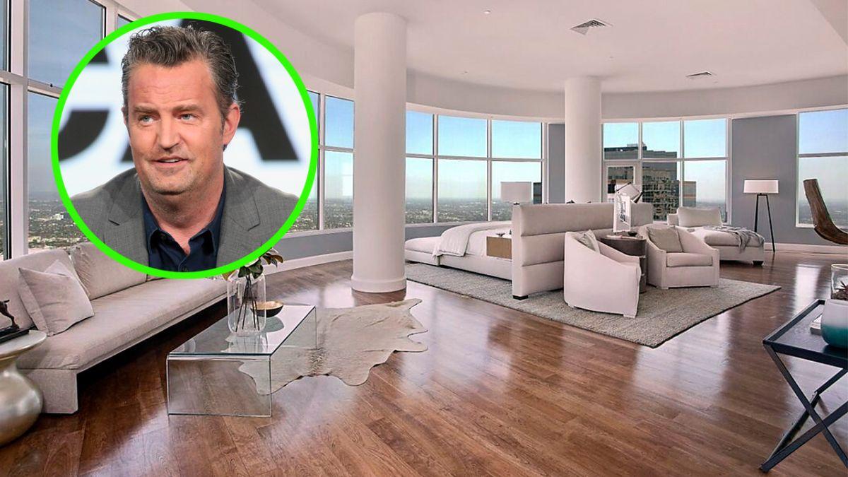 Matthew Perry finalmente se deshizo de su penthouse por baticueva incluida.