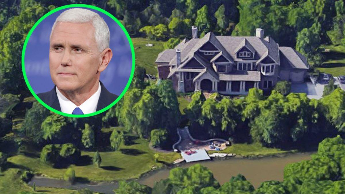 Mike Pence, exvicepresidente de Estados Unidos, compra lujosa mansión en su natal Indiana