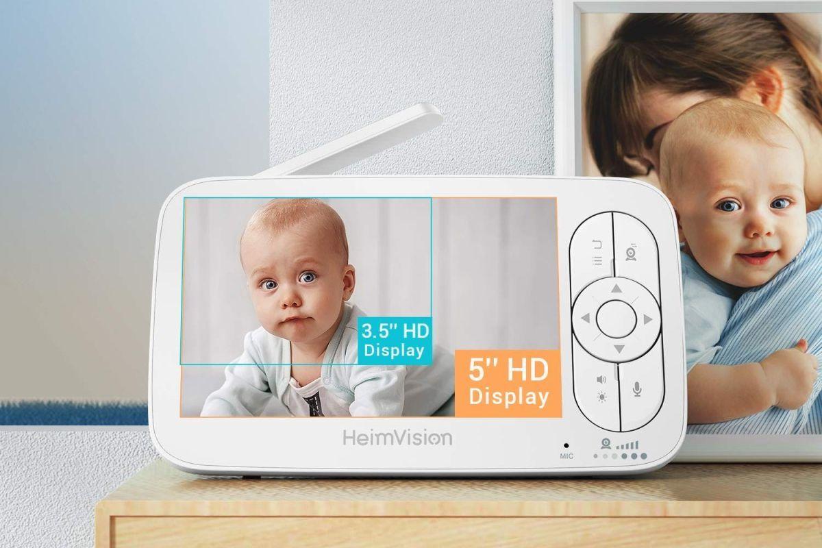 5 monitores de bebé con audio bidireccional para comunicarte con él a la distancia