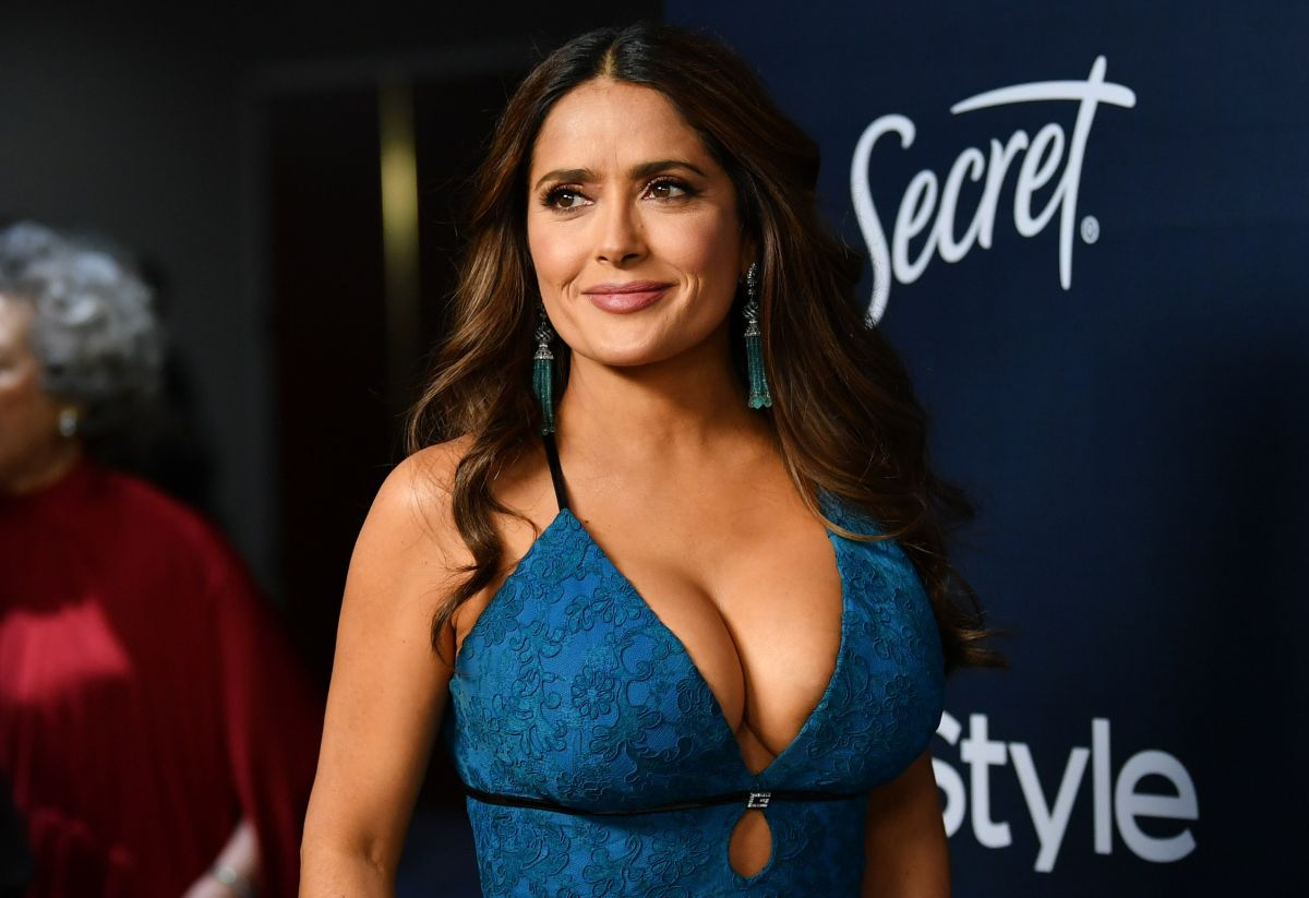 "Salma Hayek perdió un papel en la película ""The matrix"" por ser demasiado perezosa"