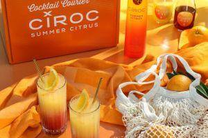 CÎROC Citrus Sunrise: Un cóctel veraniego elegante con sabores cítricos