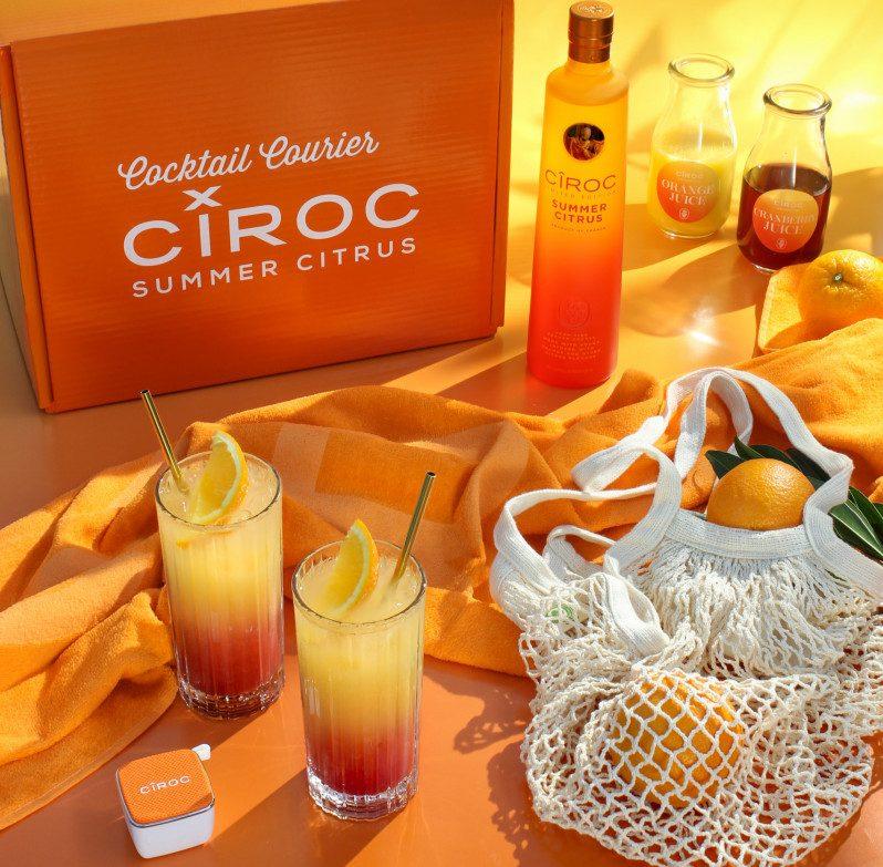 Disfruta de un delicioso cóctel con la edición limitada CÎROC Summer Citrus y todo lo que necesitas para comenzar tu verano.