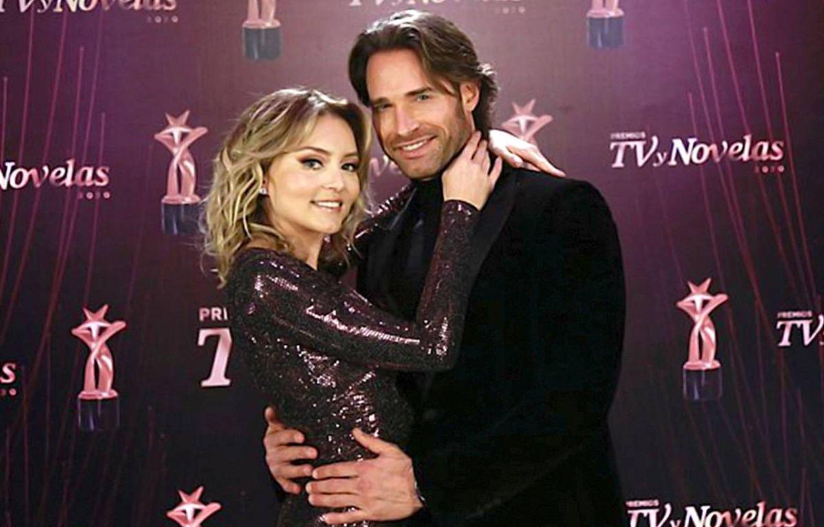 Angelique Boyer y Sebastián Rulli.