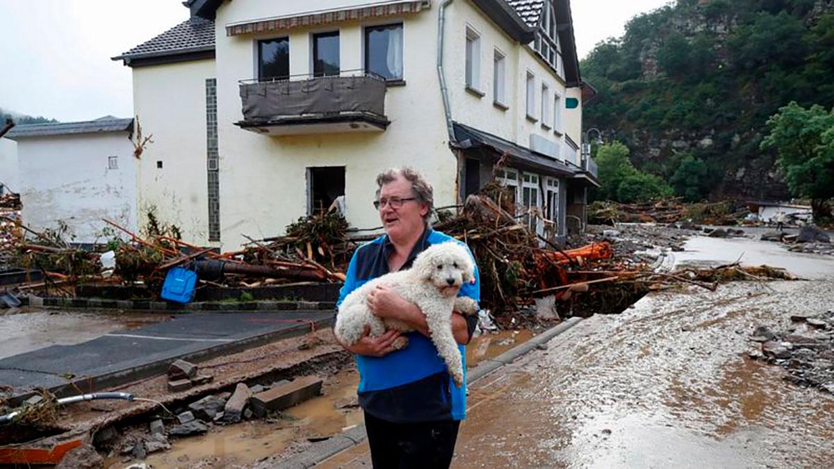 Muchas casas en Schuld bei Adenau están a punto de derrumbarse.