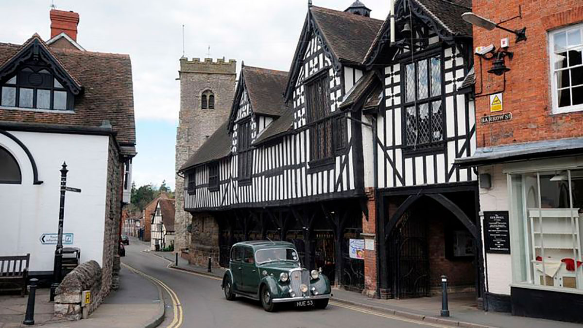 Much Wenlock, Shropshire.