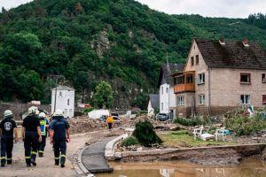 Schuld, el pueblo de Alemania donde hay decenas de desaparecidos tras ser arrasado casi por completo por las fuertes lluvias que afectan a Europa