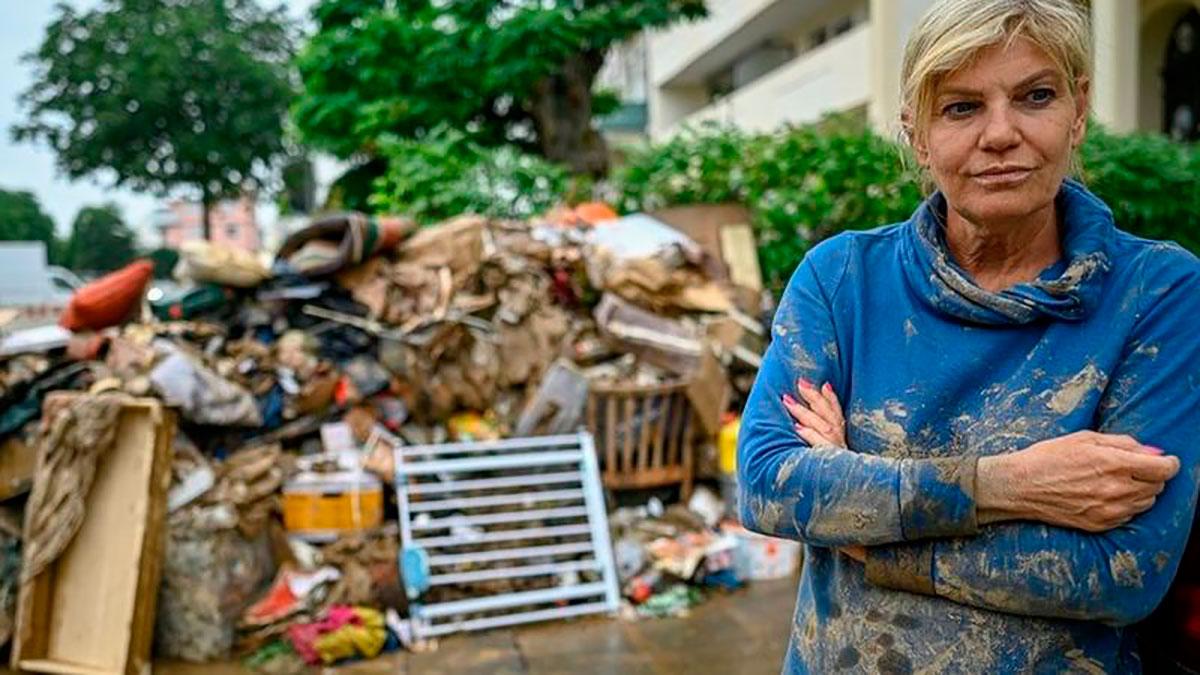 Inundaciones en Europa: así es la angustiante búsqueda contrarreloj de sobrevivientes