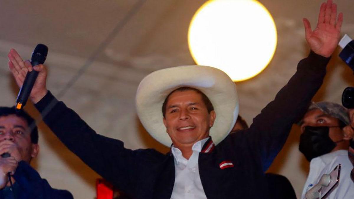 Pedro Castillo asume la presidencia de Perú el 28 de julio.