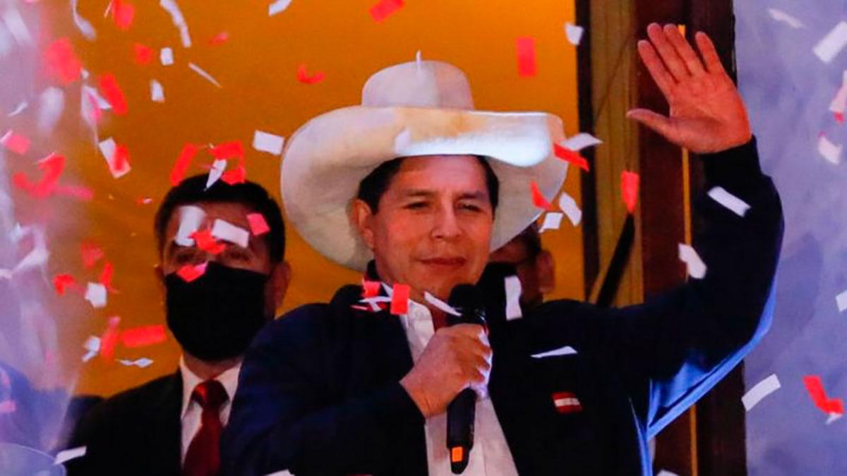 Pedro Castillo es finalmente el presidente electo de Perú.