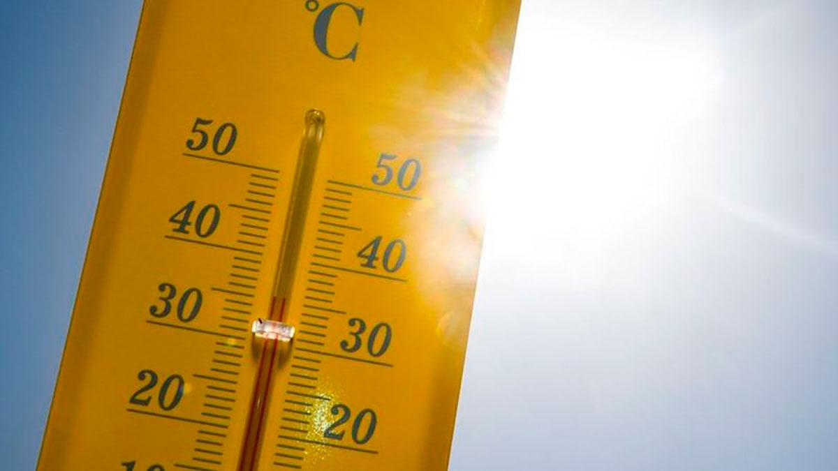 La variación de temperaturas no es igual en el día que en la noche