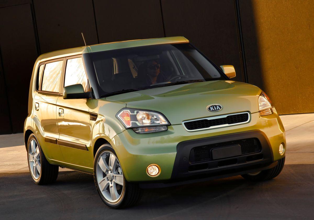 Foto del Kia Soul 2011 en color verde