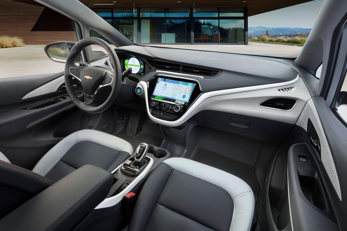 Foto del interior de Chevrolet Bolt