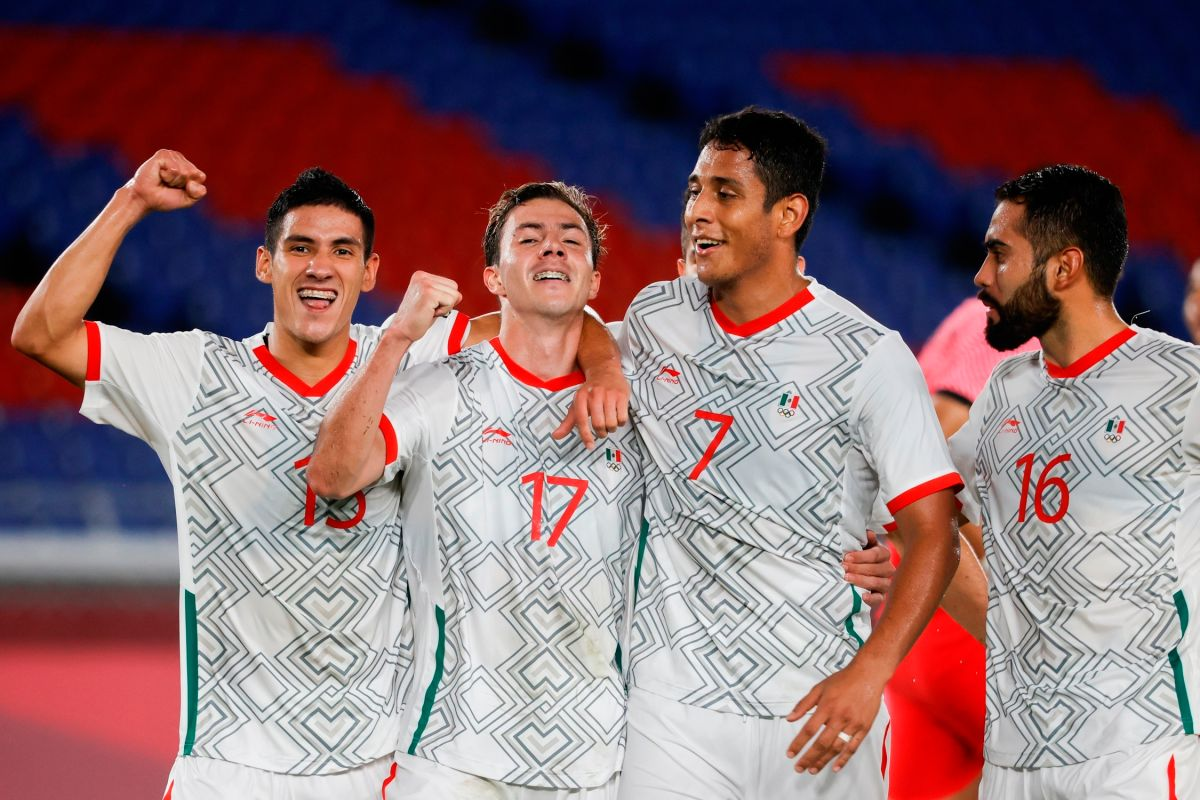 El conjunto mexicano está a un paso de pelear por la medalla de oro e igualar su participación en Londres 2012.
