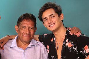 Emilio Osorio causa polémica por besar a la novia de su papá en la telenovela '¿Qué le pasa a mi familia?'