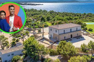 Así es la mansión, con helipuerto incluido, donde Cristiano Ronaldo 'se relaja' en Mallorca