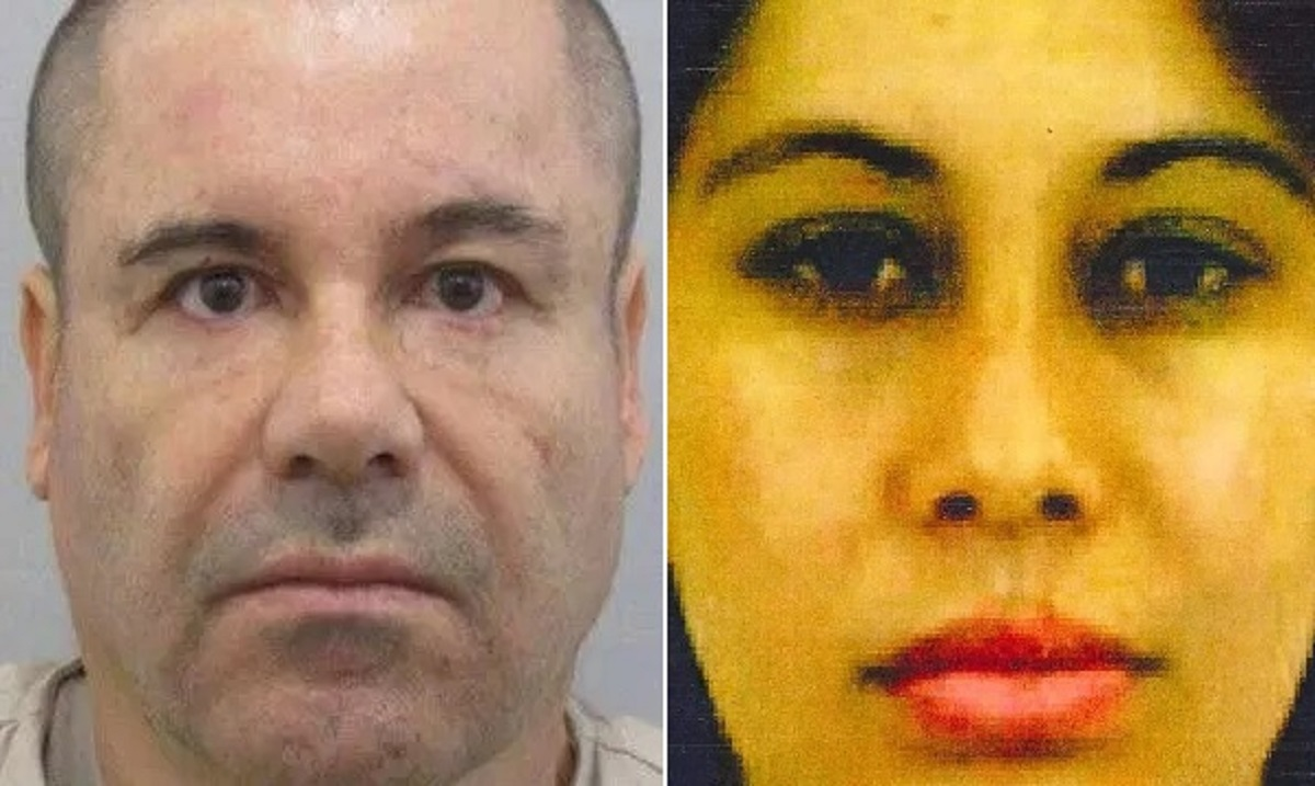 "Joaquín ""El Chapo"" Guzmán y Lucero Sánchez López, alias la ""Chapodiputada""."