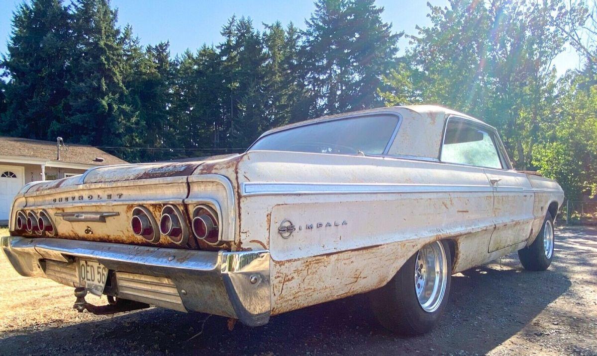 La subasta de este Chevrolet Impala 1964 solo durará cinco días, cerrando el sábado a través de eBay.
