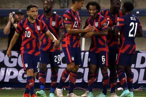 Estados Unidos le hizo un set a la defensa de Martinica y ya está en cuartos de final de la Copa Oro 2021