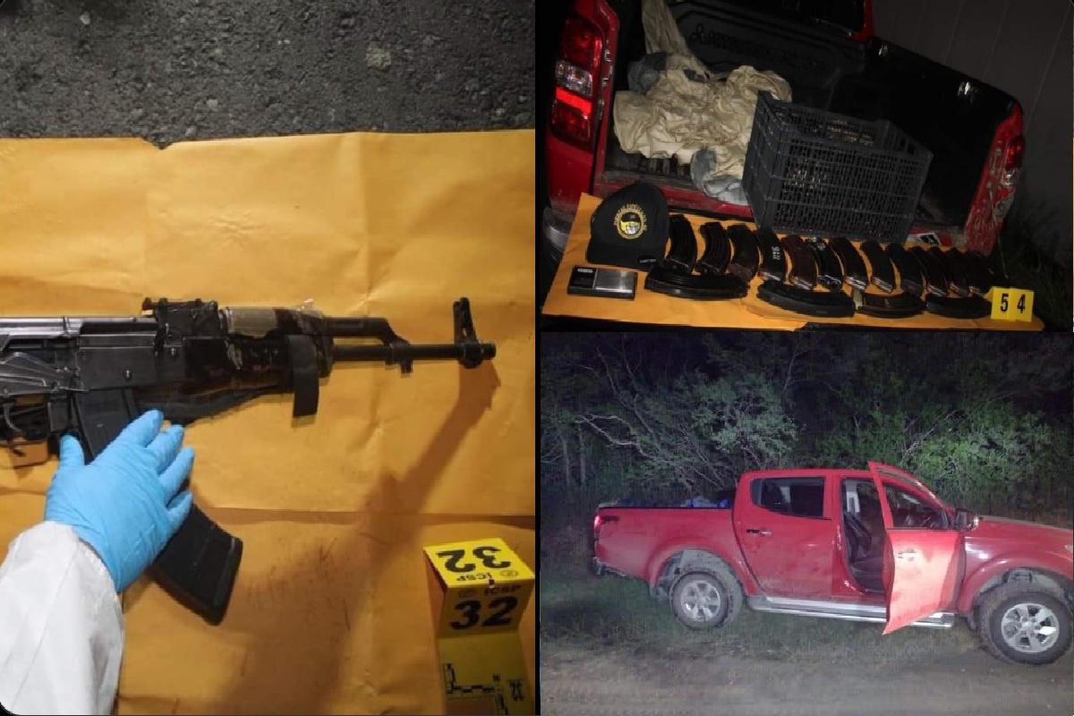 """FOTOS: Golpe a narcos del Cártel de Sinaloa en zona fronteriza que quieren """"conquistar"""""""