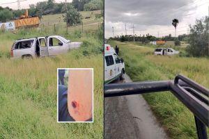 FOTOS: Sicarios del narco atacan a policías en Río Bravo; Así dejaron a un agente