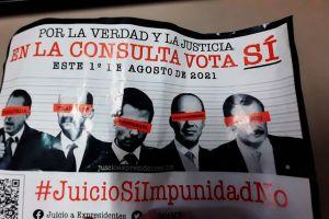 Mexicanos en el exterior enojados por quedar fuera de consulta para enjuiciar a expresidentes