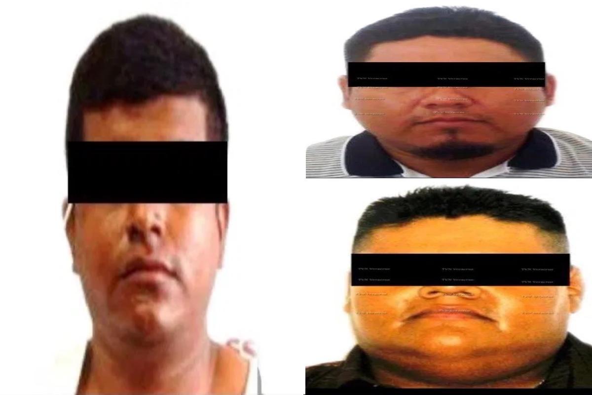 Sujetos del CJNG detenidos.