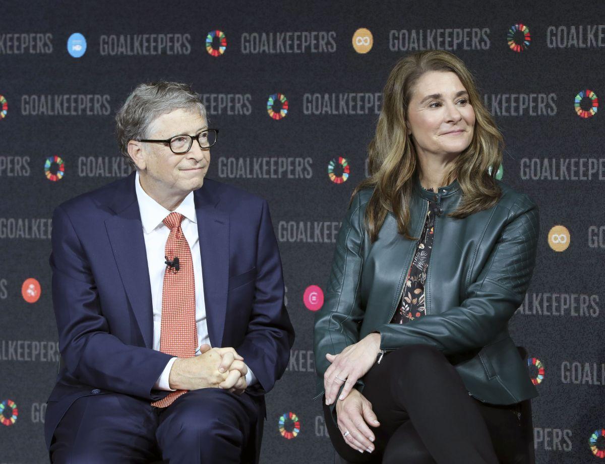 Bill Gates conoció a Melinda French al interior de Microsoft donde ella entró a trabajar en 1987 como gerente de productos.
