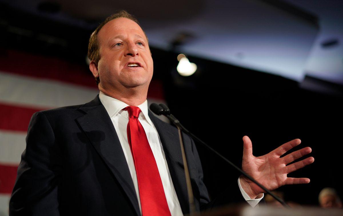 El gobernador de Colorado Jared Polis.