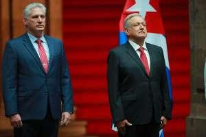 """AMLO califica de """"inhumano"""" y """"medieval"""" el bloqueo de Estados Unidos a Cuba"""