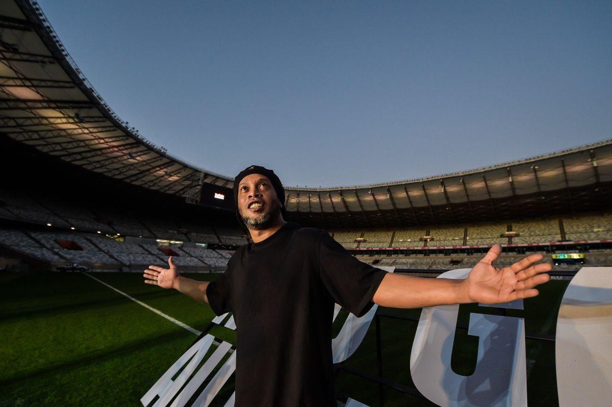 Ronaldinho es un ídolo para futbolistas y fanáticos.