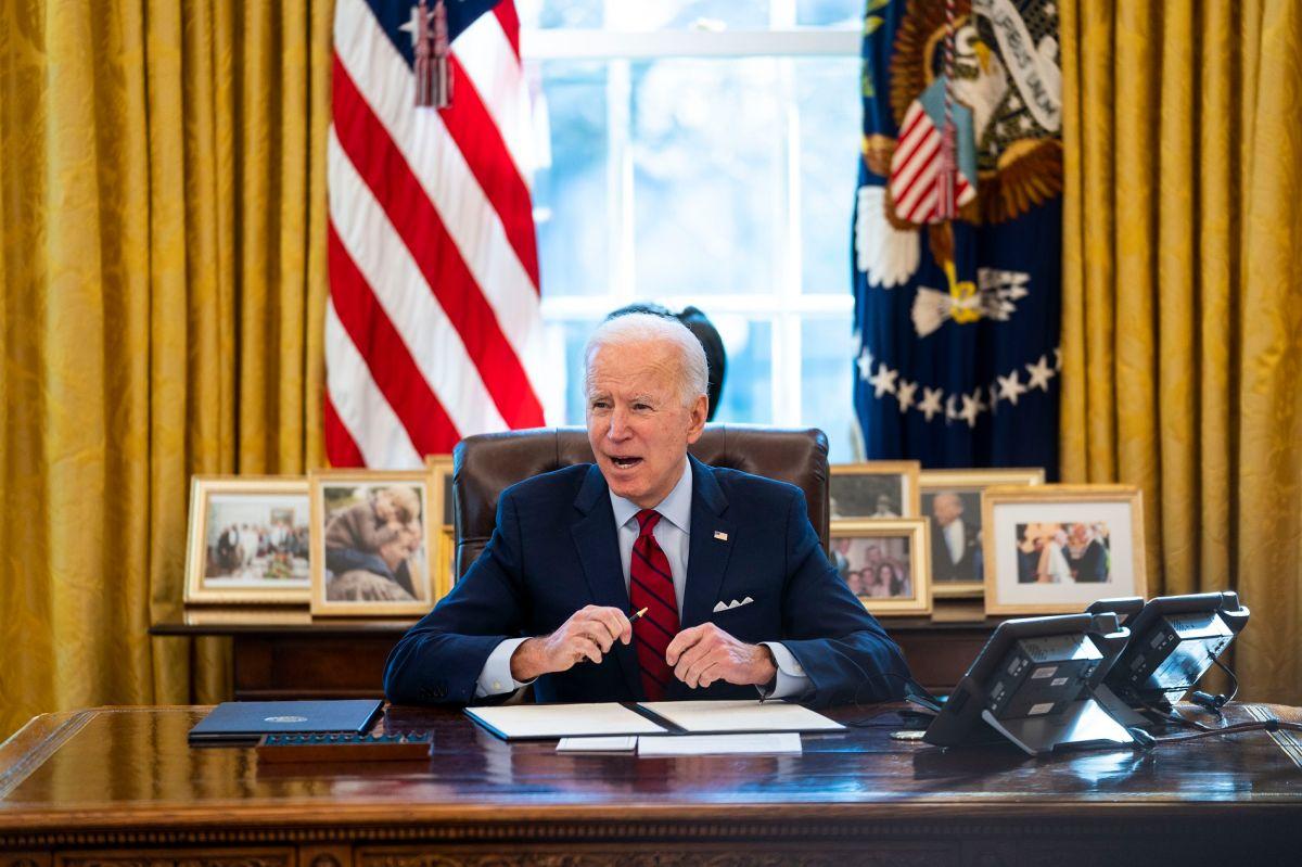 El presidente Biden celebró el acuerdo bipartidista para su plan de infraestructura.