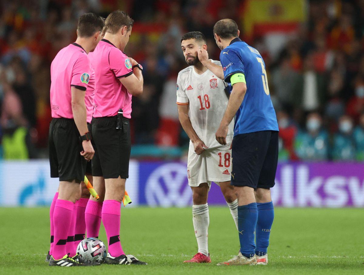 Es la tercera vez consecutiva que Italia enfrenta a España en una fase final de Eurocopa.