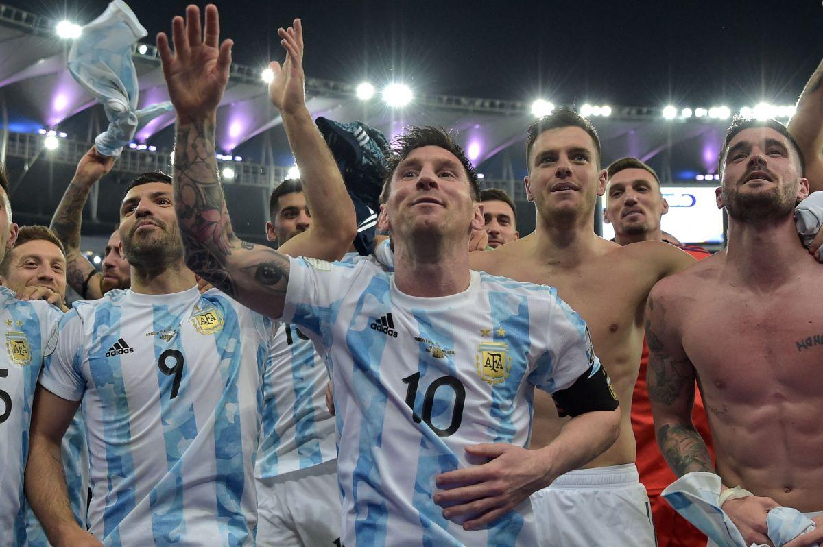 Argentina ganó por primera vez en el estadio Maracaná un partido oficial.