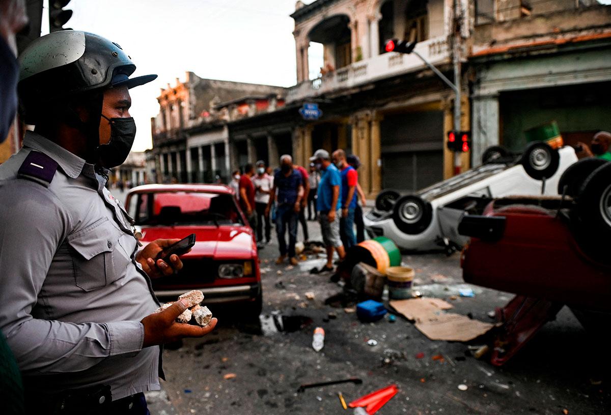 Cuba vivió una jornada histórica de protestas.