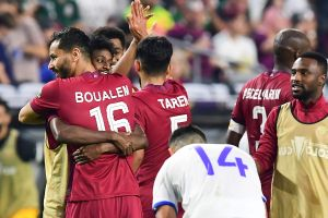 Catar derrota a El Salvador y se clasifica a semifinales de la Copa Oro