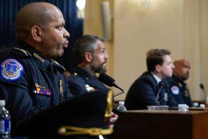 ¿Quiénes son los cuatro policías que testificaron en la primera audiencia por el ataque al Capitolio?