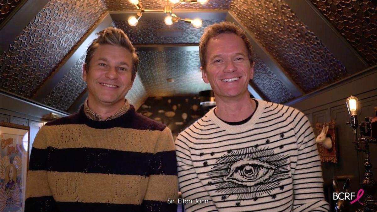 David Burtka y Neil Patrick Harris.
