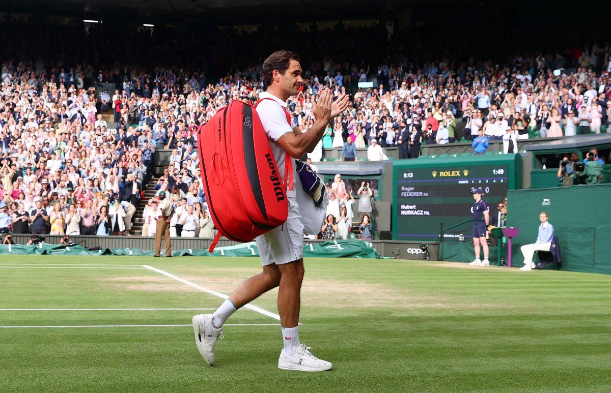 El tenista suizo quedó eliminado en los cuartos de final de Wimbledon.