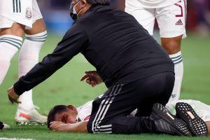 """""""Chucky"""" Lozano recibió 40 puntos de sutura tras choque con portero de Trinidad y Tobago"""